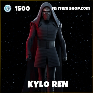 Kylo Ren epic fortite star wars skin